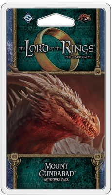 Lord of the Rings LCG: Mount Gundabad Adventure Pack