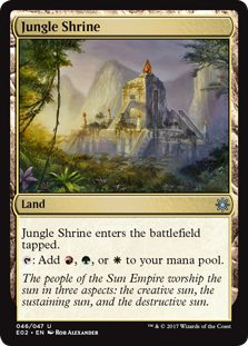 Jungle Shrine - Explorers of Ixalan