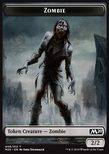 Zombie TOKEN Black 2/2 - Core 2020