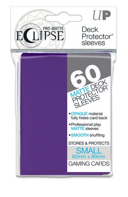 Ultra Pro Japanese Size Sleeves Eclipse, Royal Purple (60ct)