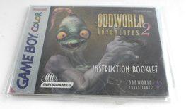 Oddworld Adventures 2 (Manual)