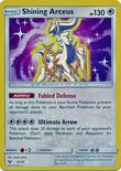 Shining Arceus 57/73 - Sun & Moon Shining Legends