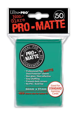 Ultra Pro Sleeves Matte Aqua (50pcs)