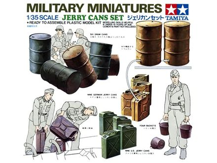 Tamiya Jerry Cans Set 1/35