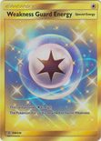 Weakness Guard Energy Secret Rare 258/236 - Sun & Moon Unified Minds
