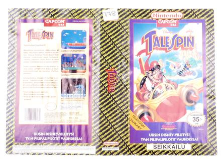 TaleSpin (Orginal YAPON Rental Cover Paper)