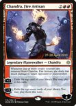 Chandra, Fire Artisan - War of the Spark Promos