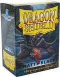 Dragon Shield Sleeves Standard Size Matte Black (100ct)