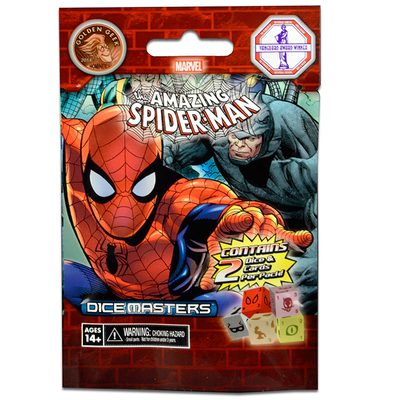Marvel Dice Masters - The Amazing Spider-Man Foil Pack
