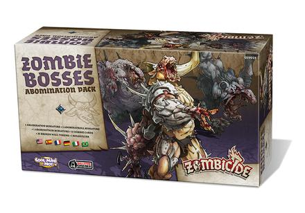 Zombicide Black Plague: Zombie Bosses Abomination Box