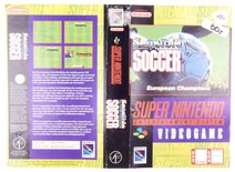 Sensible Soccer (Original Rental Cover Paper)