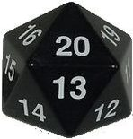 Dice d20 (large) (Varying colors)