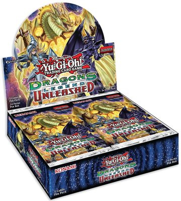 Dragons of Legend 3: Unleashed Booster Display Box