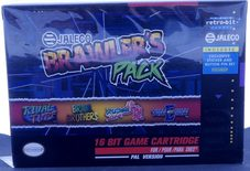 Jaleco Brawler's Pack (Published By Retro-Bit) - SNES