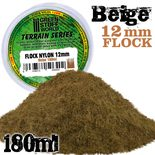 GSW Static Grass Flock 12mm: Beige (180ml)