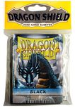 Dragon Shield Small Sleeves, Black (50pcs)