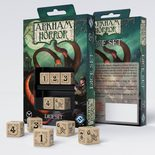 Arkham Horror Dice Set, Beige & Black (5pcs)