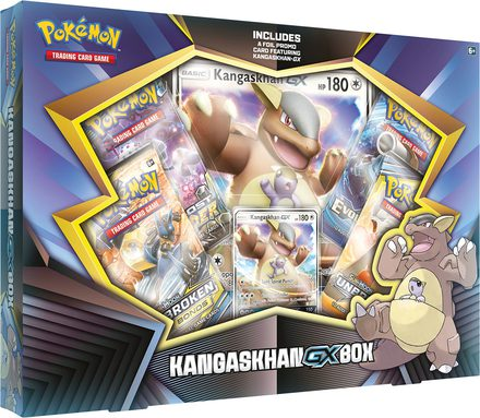 Pokemon Kangaskhan-GX Promo Box