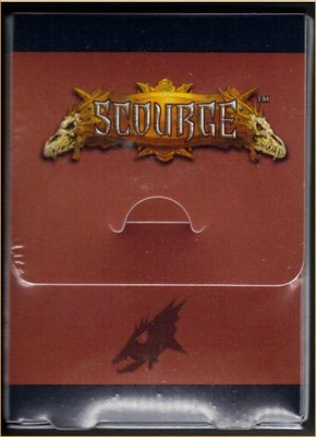 Scourge Deck Box + Sleeves (80pcs)