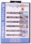 Mega Games 6 Vol. 1 (World Cup Italia '90, Golden Axe, Streets Of Rage, The Revenge Of Shinobi, Super Hang-On, Columns) - Mega Drive