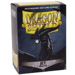 Dragon Shield Sleeves Matte Jet (100pcs)