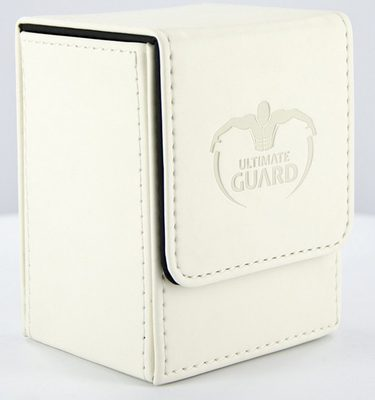 Ultimate Guard Deck Box, Flip Deck Case 80+ White