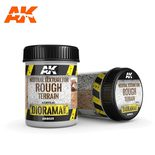 AK Interactive Terrains: Neutral Texture for Rough Terrain 250ml