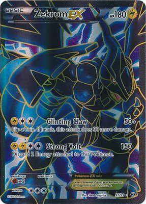 Zekrom EX Full Art 97/99 - Black & White 4: Next Destinies