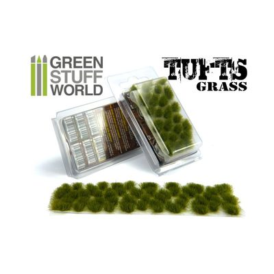 GSW Grass Tufts: Dry Green