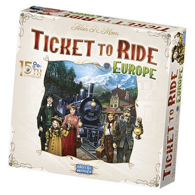 Ticket to Ride Europe - 15th Anniversary (PREORDER)