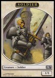 Soldier TOKEN 1/1 - Magic 2012