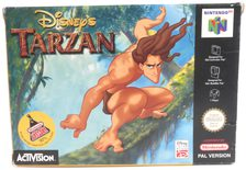 EMPTY BOX - Disney's Tarzan (box only, no game!)