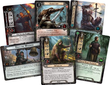 Lord of the Rings LCG: Fire in the Night Adventure Pack