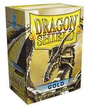 Dragon Shield Sleeves Gold (100pcs)