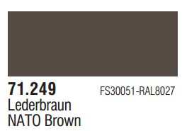 Vallejo Model Air: NATO Brown 71.249