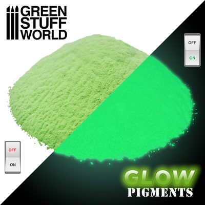 GSW Glow Pigments: Reality Yellow 30ml