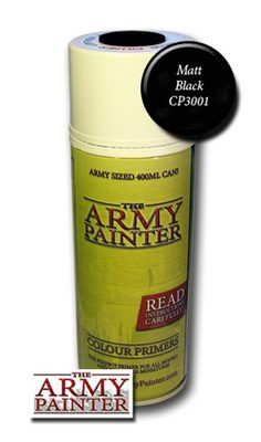 Army Painter Spray, Black