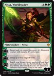 Nissa, Worldwaker - Archenemy - Nicol Bolas
