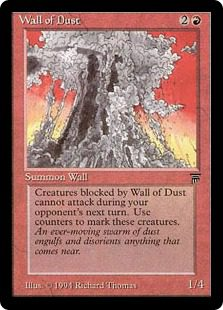 Wall of Dust - Legends