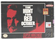 The Hunt For Red October - SNES