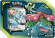 Pokemon Tag Team Tin: Celebi & Venusaur-GX