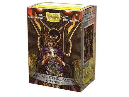 Dragon Shield Art Sleeves Matte Standard Size Queen Athromark Vanguard: Portrait (100ct)