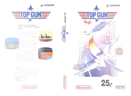 Top Gun (Orginal YAPON Rental Cover Paper)