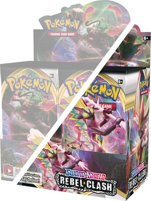 Pokemon SS2: Rebel Clash Half Box (PREORDER)