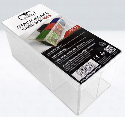 Ultimate Guard Deck Box, 6 Compartment, Stack n Safe Card Box (480 Cards)