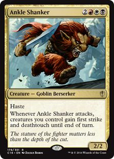 Ankle Shanker - Commander 2016