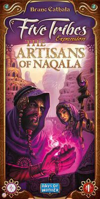 Five Tribes The Artisans of Naqala Expansion
