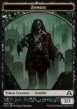 Zombie TOKEN 2/2 - Shadows over Innistrad