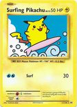 Surfing Pikachu Secret Rare 111/108 - X&Y Evolutions