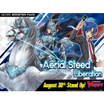 Cardfight Vanguard V Aerial Steed Liberation Booster (PREORDER)
